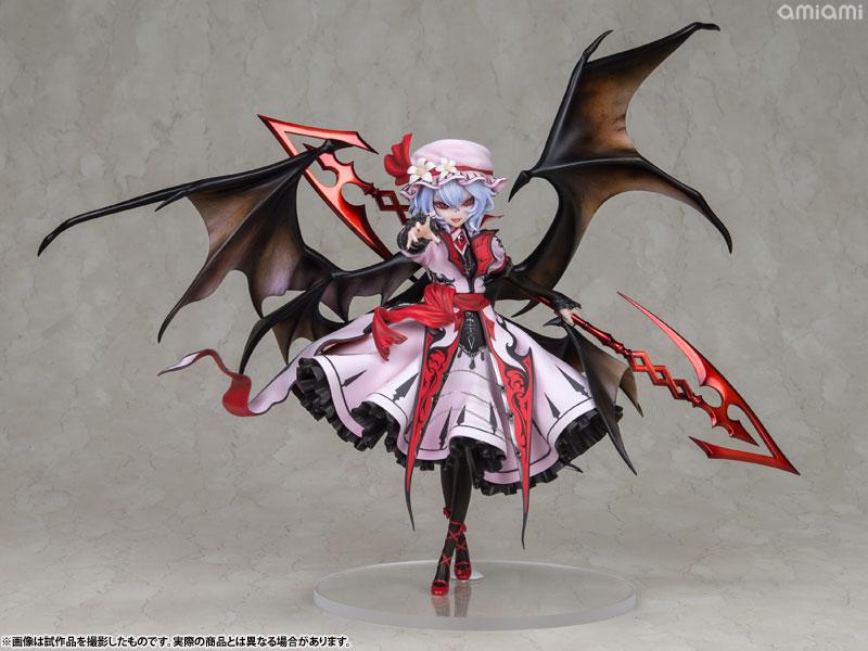 【再販】東方Project『レミリア・スカーレット 紅魔城伝説版』完成品フィギュア-001