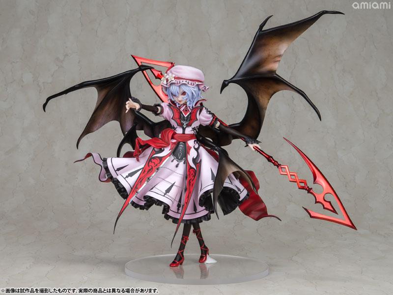【再販】東方Project『レミリア・スカーレット 紅魔城伝説版』完成品フィギュア-002