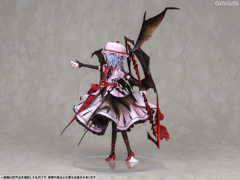 【再販】東方Project『レミリア・スカーレット 紅魔城伝説版』完成品フィギュア-003