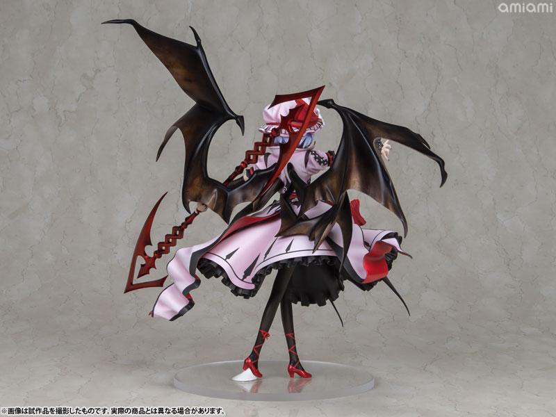 【再販】東方Project『レミリア・スカーレット 紅魔城伝説版』完成品フィギュア-006