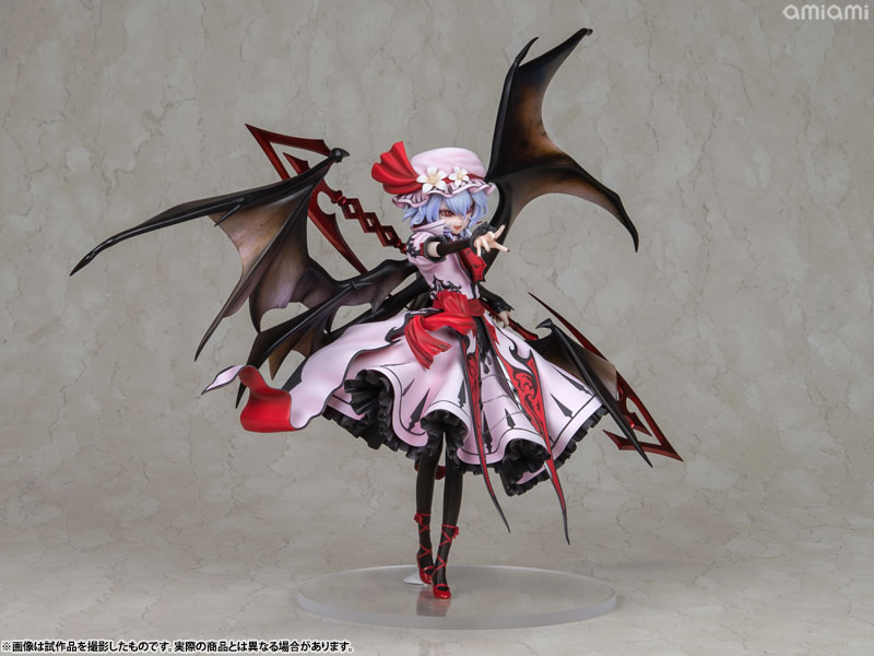 【再販】東方Project『レミリア・スカーレット 紅魔城伝説版』完成品フィギュア-008
