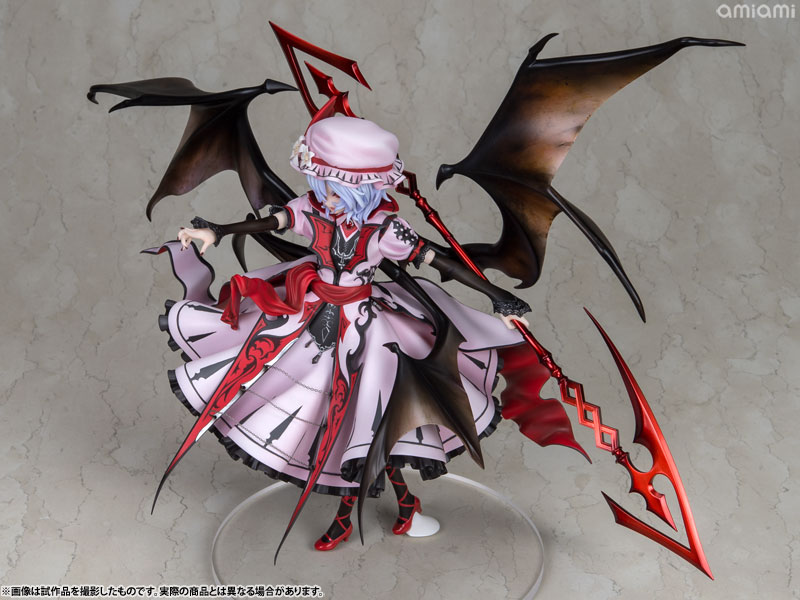 【再販】東方Project『レミリア・スカーレット 紅魔城伝説版』完成品フィギュア-012