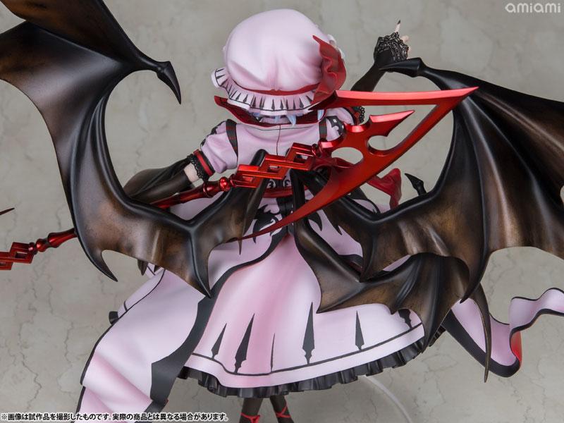 【再販】東方Project『レミリア・スカーレット 紅魔城伝説版』完成品フィギュア-017