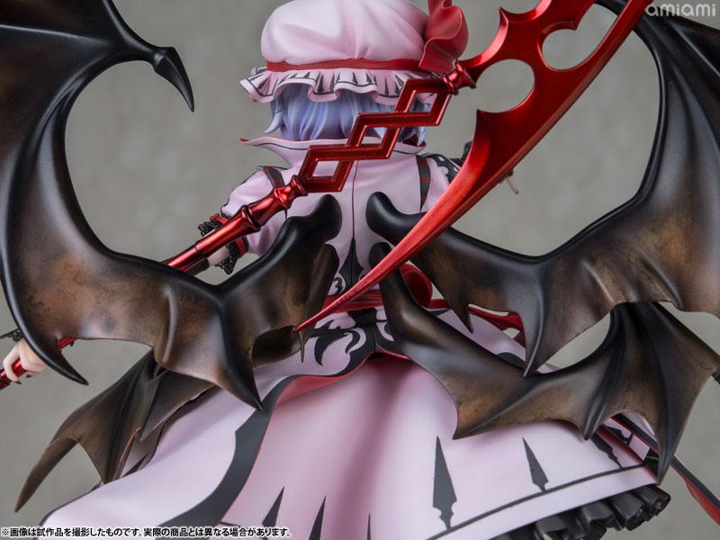 【再販】東方Project『レミリア・スカーレット 紅魔城伝説版』完成品フィギュア-028