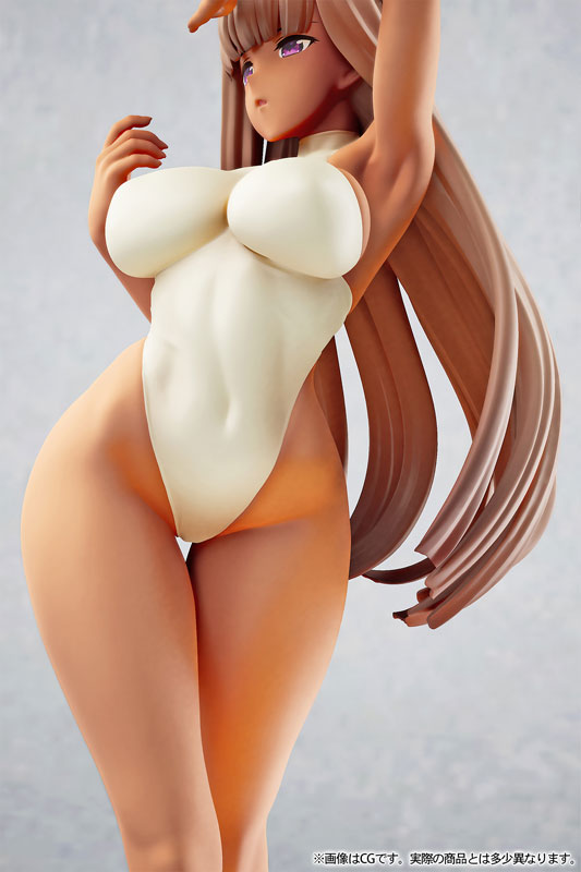 サブロー先生オリジナルイラスト『褐色ちゃん』1/7 完成品フィギュア-012
