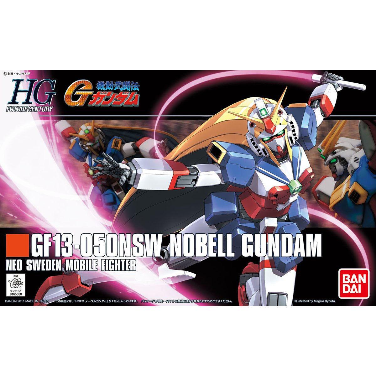 【再販】HGFC 1/144『ノーベルガンダム』機動武闘伝Gガンダム プラモデル-006