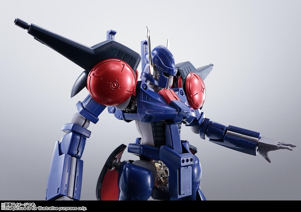 HI-METAL R『バッシュ』重戦機エルガイム 可動フィギュア-011