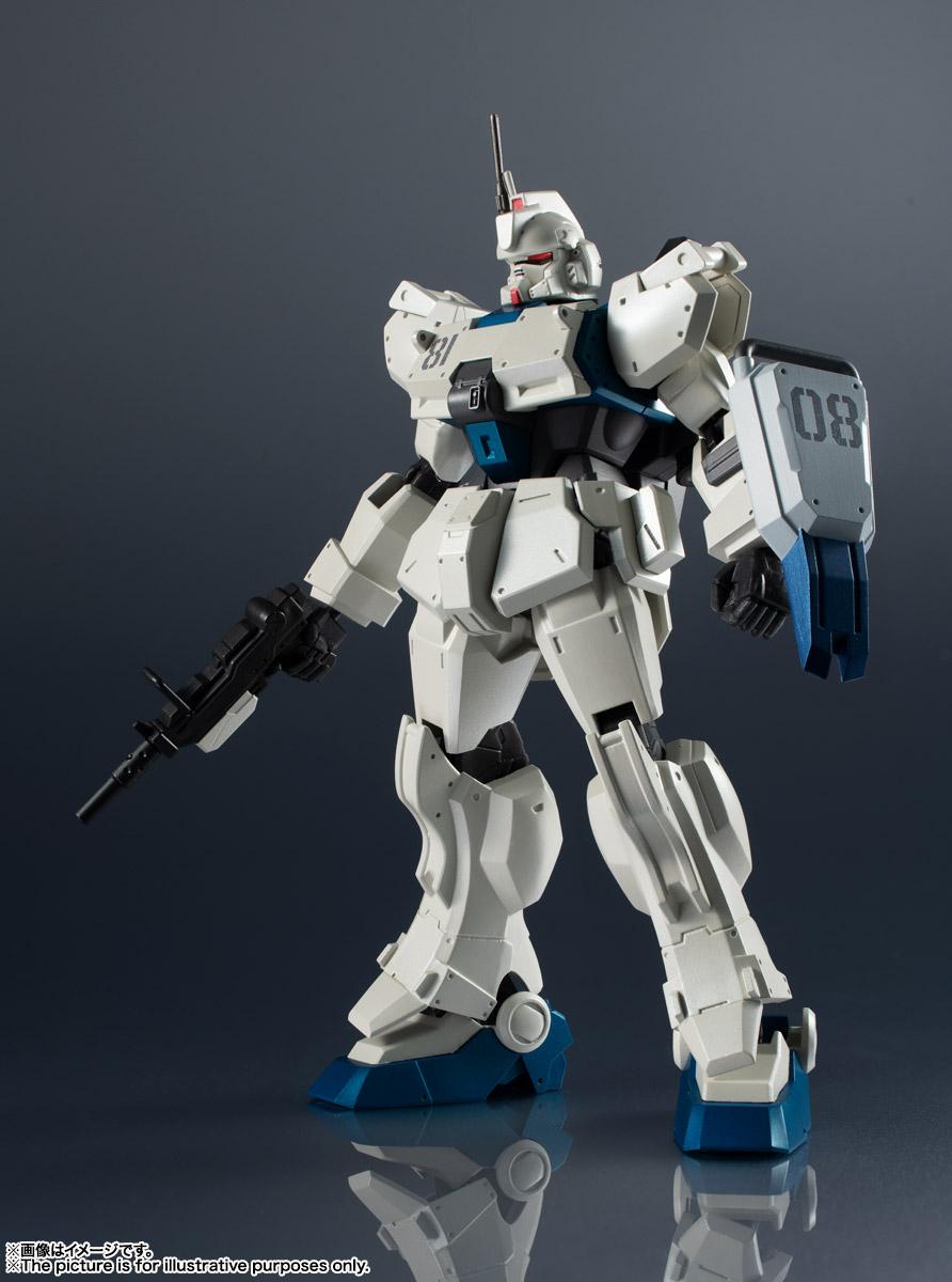 GUNDAM UNIVERSE『RX-79[G]Ez-8 GUNDAM Ez8』ガンダムEz8 可動フィギュア-002