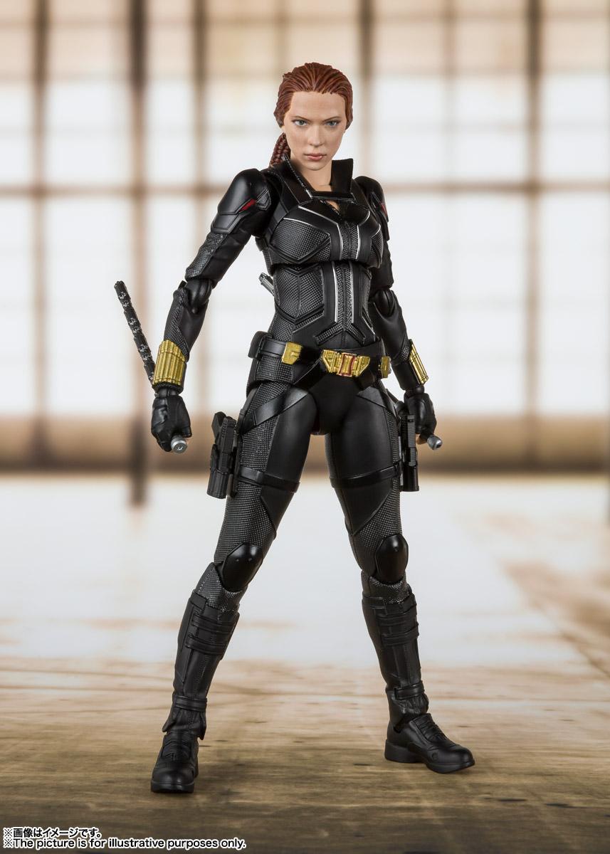 S.H.Figuarts『ブラック・ウィドウ』Black Widow 可動フィギュア-001