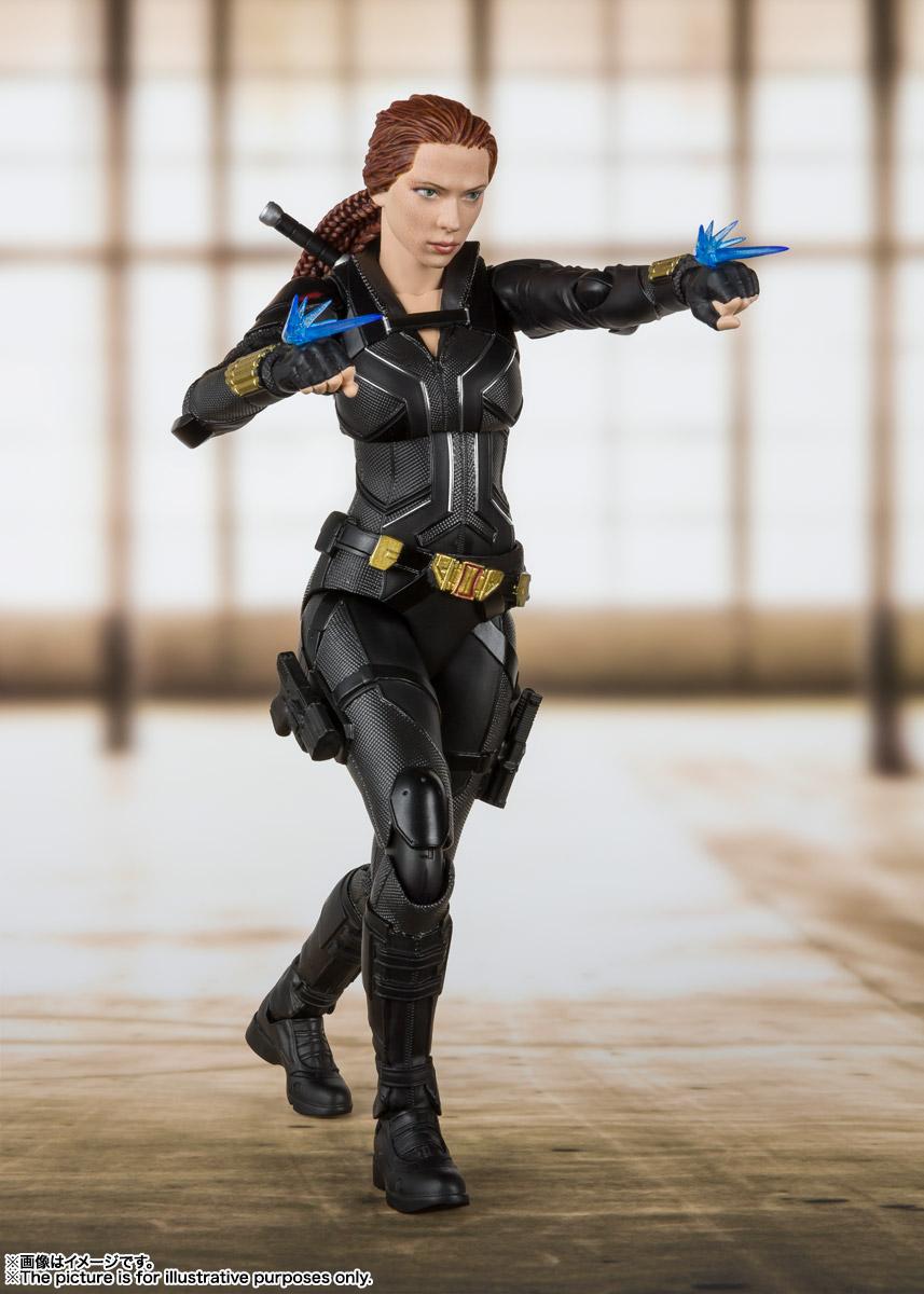 S.H.Figuarts『ブラック・ウィドウ』Black Widow 可動フィギュア-004