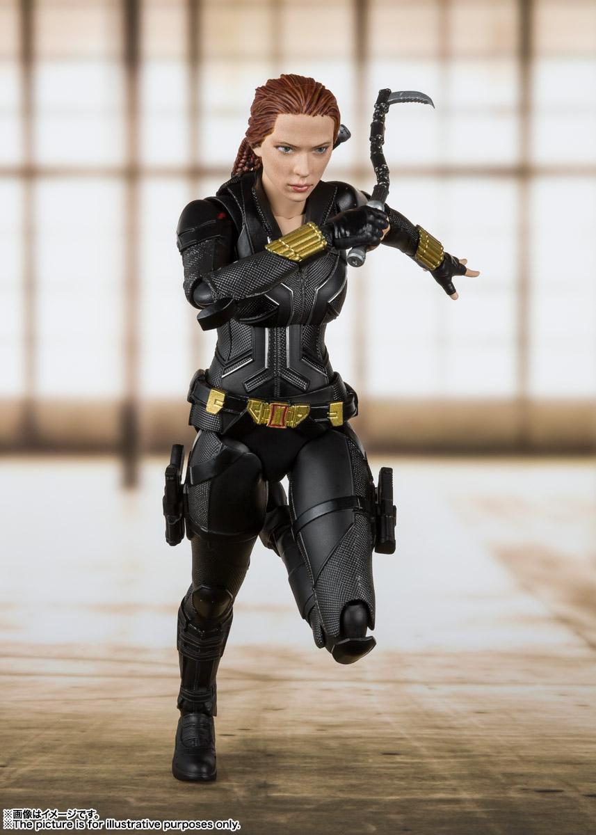 S.H.Figuarts『ブラック・ウィドウ』Black Widow 可動フィギュア-005