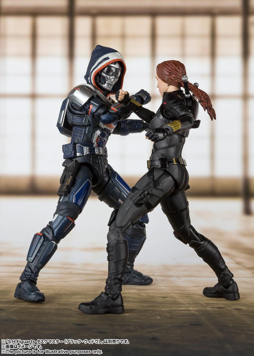 S.H.Figuarts『ブラック・ウィドウ』Black Widow 可動フィギュア-008