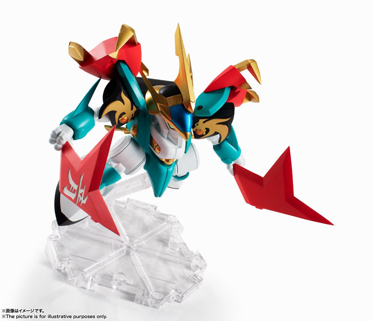 NXEDGE STYLE[MASHIN UNIT]『幻龍丸』魔神英雄伝ワタル 可動フィギュア-002