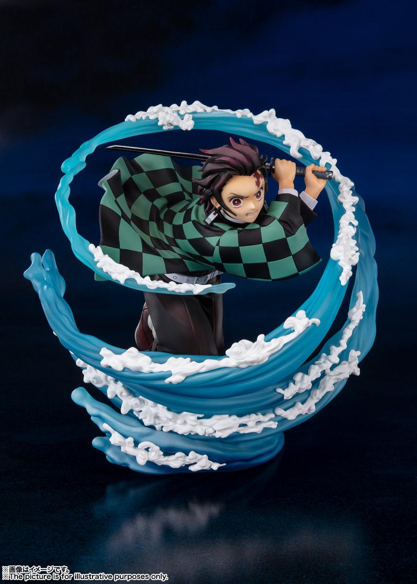 フィギュアーツZERO『竈門炭治郎 -水の呼吸-』鬼滅の刃 完成品フィギュア-002