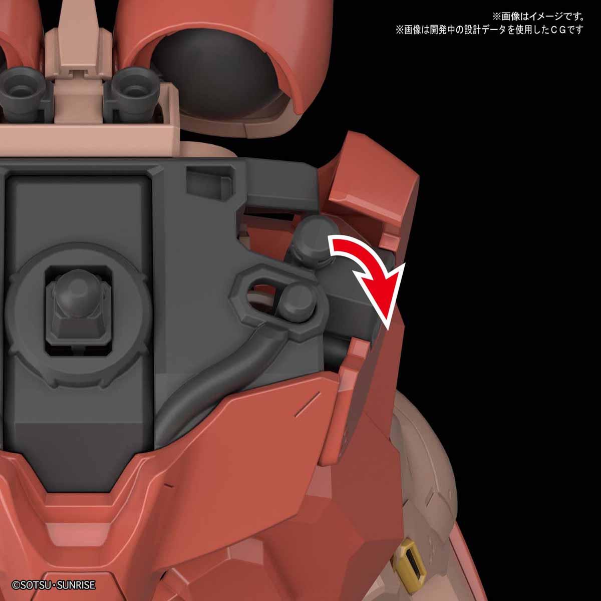 HGUC 1/144『メッサー(仮)』機動戦士ガンダム 閃光のハサウェイ プラモデル-004