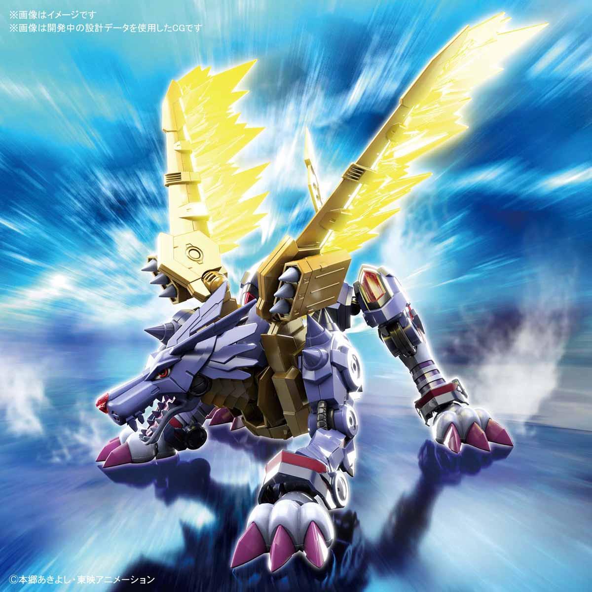 Figure-rise Standard『メタルガルルモン(AMPLIFIED)』デジモンアドベンチャー プラモデル-001