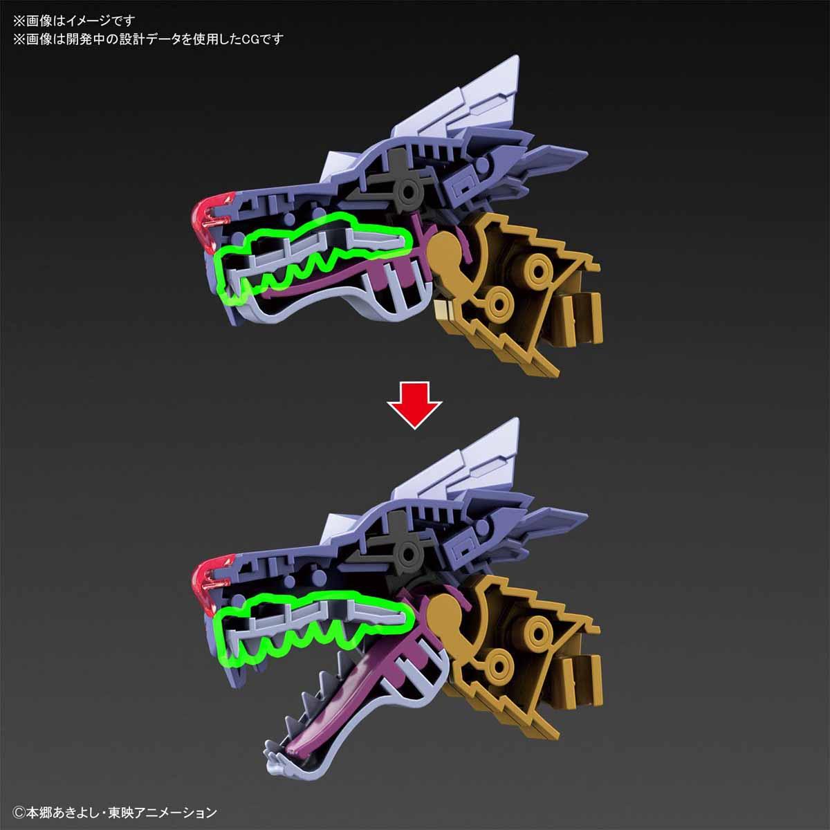 Figure-rise Standard『メタルガルルモン(AMPLIFIED)』デジモンアドベンチャー プラモデル-006