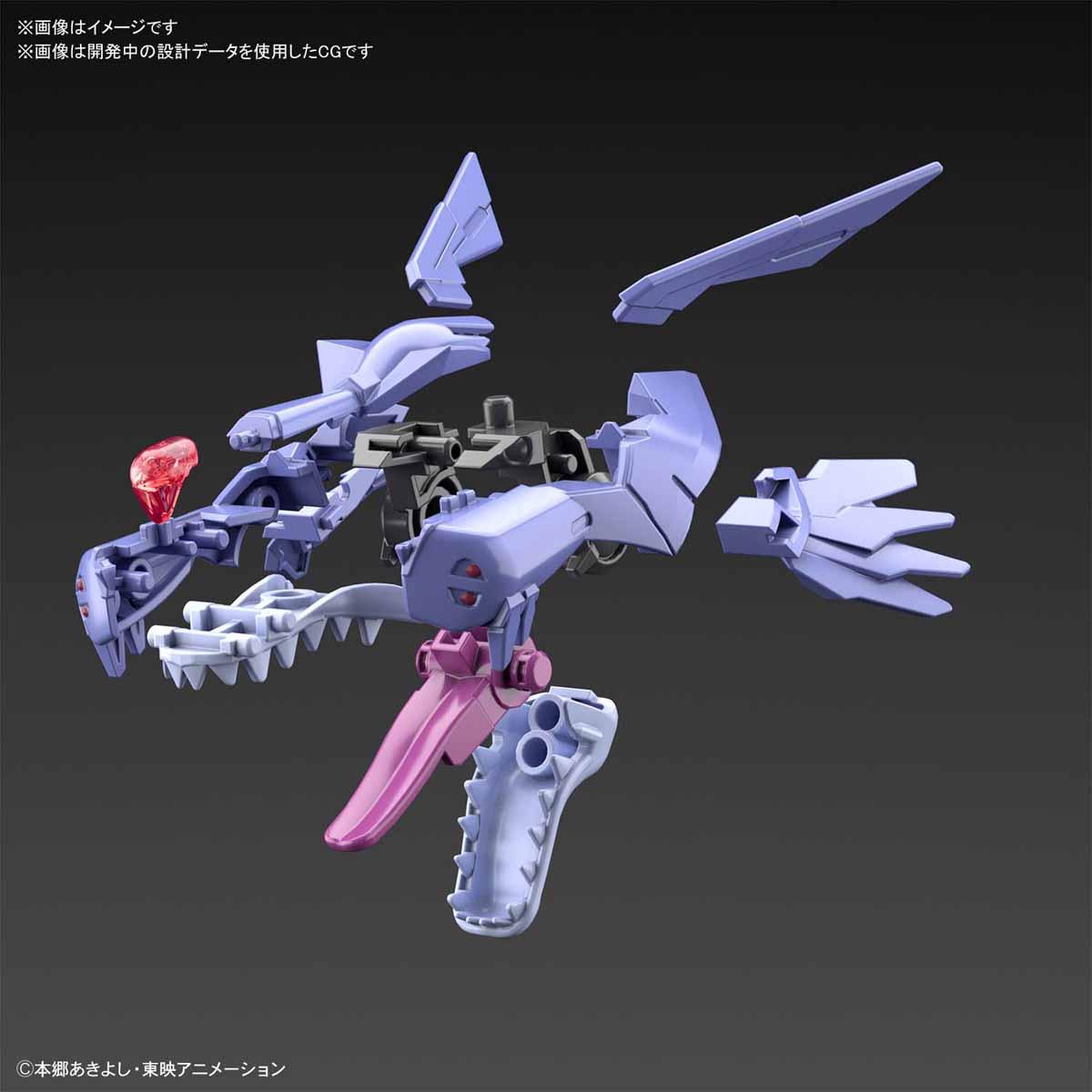 Figure-rise Standard『メタルガルルモン(AMPLIFIED)』デジモンアドベンチャー プラモデル-007