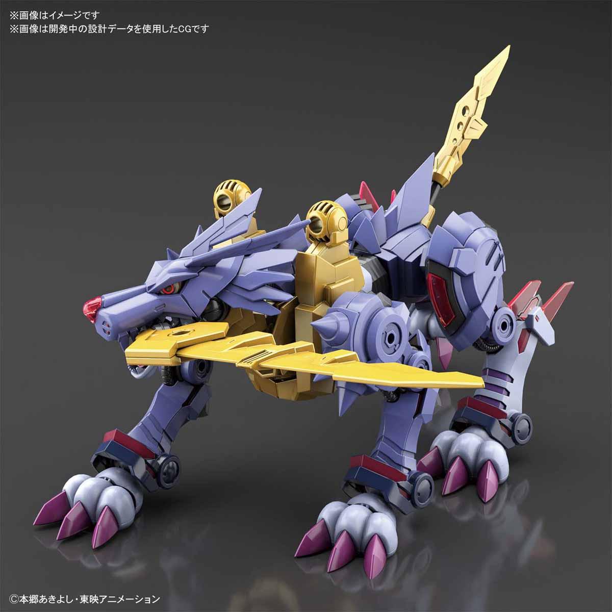 Figure-rise Standard『メタルガルルモン(AMPLIFIED)』デジモンアドベンチャー プラモデル-008