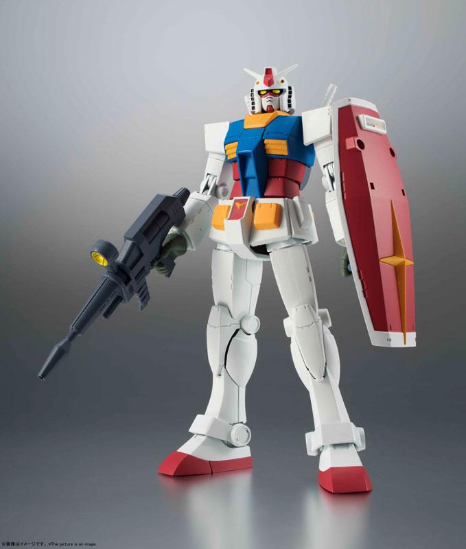 ROBOT魂〈SIDE MS〉『RX-78-2 ガンダム ver. A.N.I.M.E.[BEST SELECTION]』機動戦士ガンダム 可動フィギュア-001