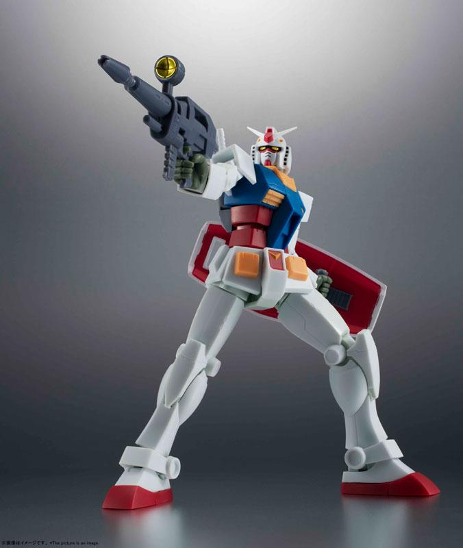 ROBOT魂〈SIDE MS〉『RX-78-2 ガンダム ver. A.N.I.M.E.[BEST SELECTION]』機動戦士ガンダム 可動フィギュア-003