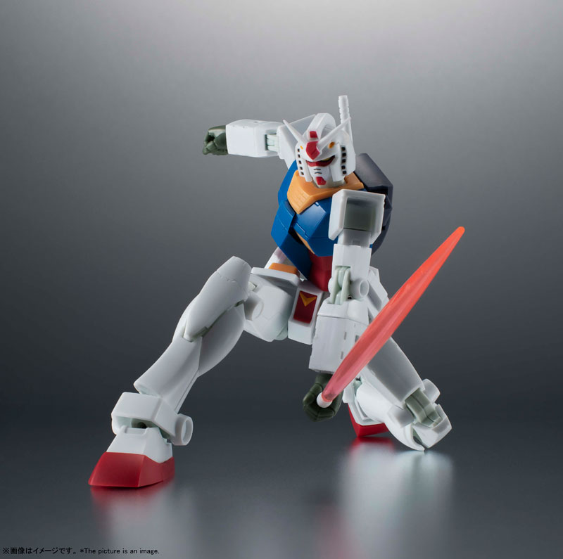 ROBOT魂〈SIDE MS〉『RX-78-2 ガンダム ver. A.N.I.M.E.[BEST SELECTION]』機動戦士ガンダム 可動フィギュア-005