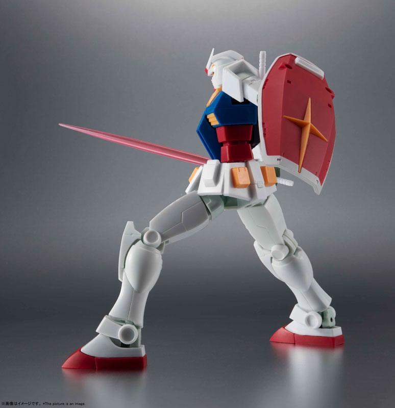 ROBOT魂〈SIDE MS〉『RX-78-2 ガンダム ver. A.N.I.M.E.[BEST SELECTION]』機動戦士ガンダム 可動フィギュア-006