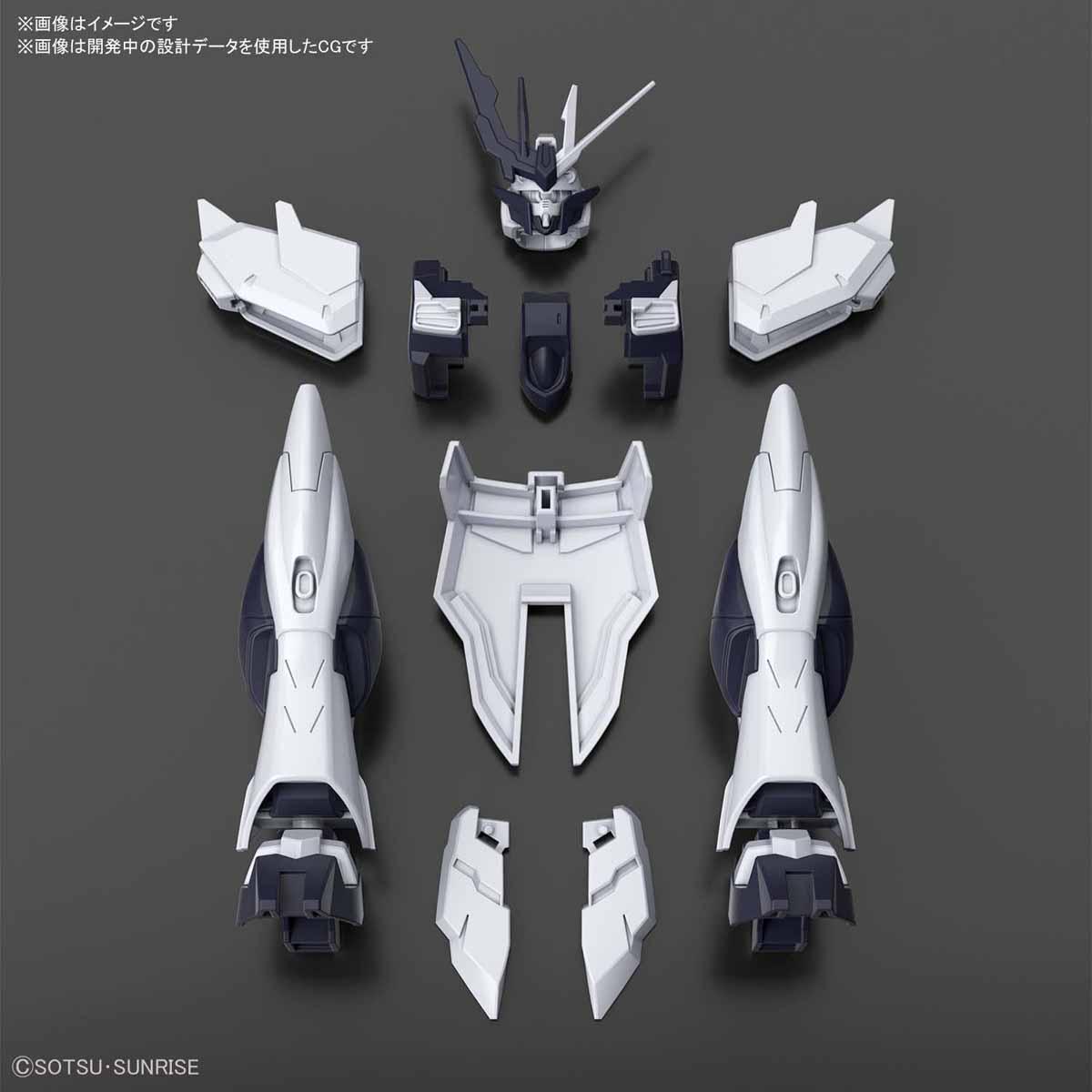 HGBD:R 1/144『敵ガンダム新外装アイテム』ガンダムビルドダイバーズRe:RISE プラモデル-001