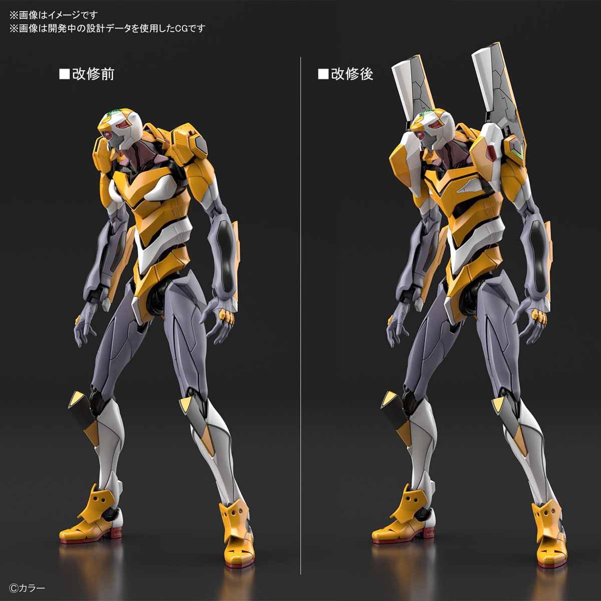 RG『汎用ヒト型決戦兵器 人造人間エヴァンゲリオン試作零号機』プラモデル-003