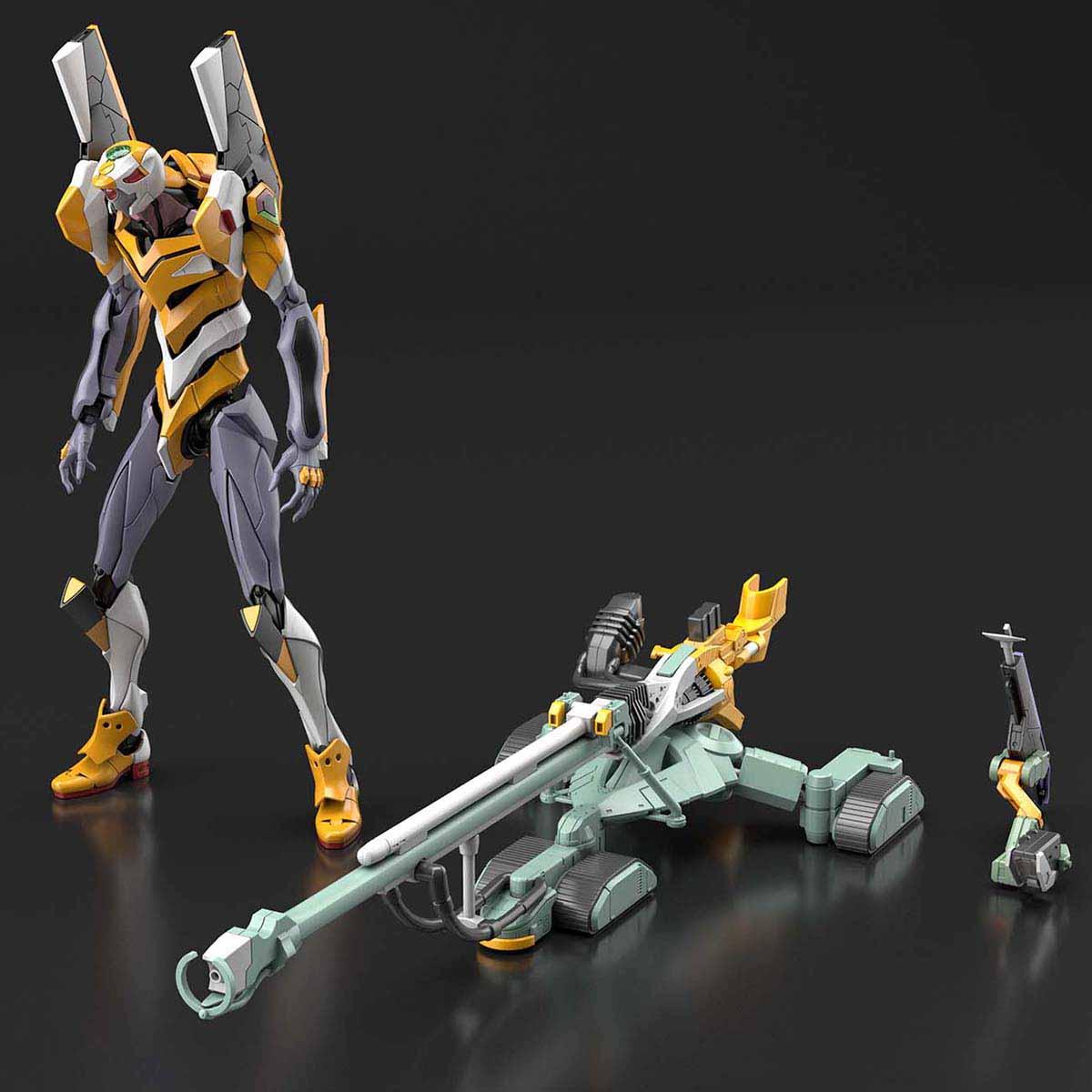 RG『汎用ヒト型決戦兵器 人造人間エヴァンゲリオン試作零号機』プラモデル-005