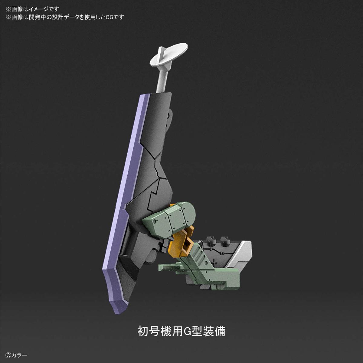 RG『汎用ヒト型決戦兵器 人造人間エヴァンゲリオン試作零号機』プラモデル-007
