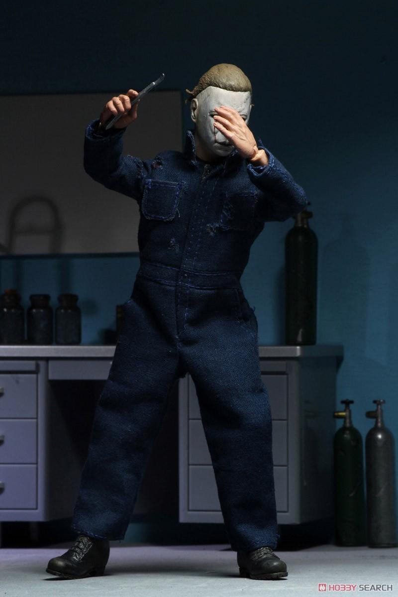 8インチ アクションドール『ブギーマン/マイケル・マイヤーズ』ハロウィンII 完成品ドール-006