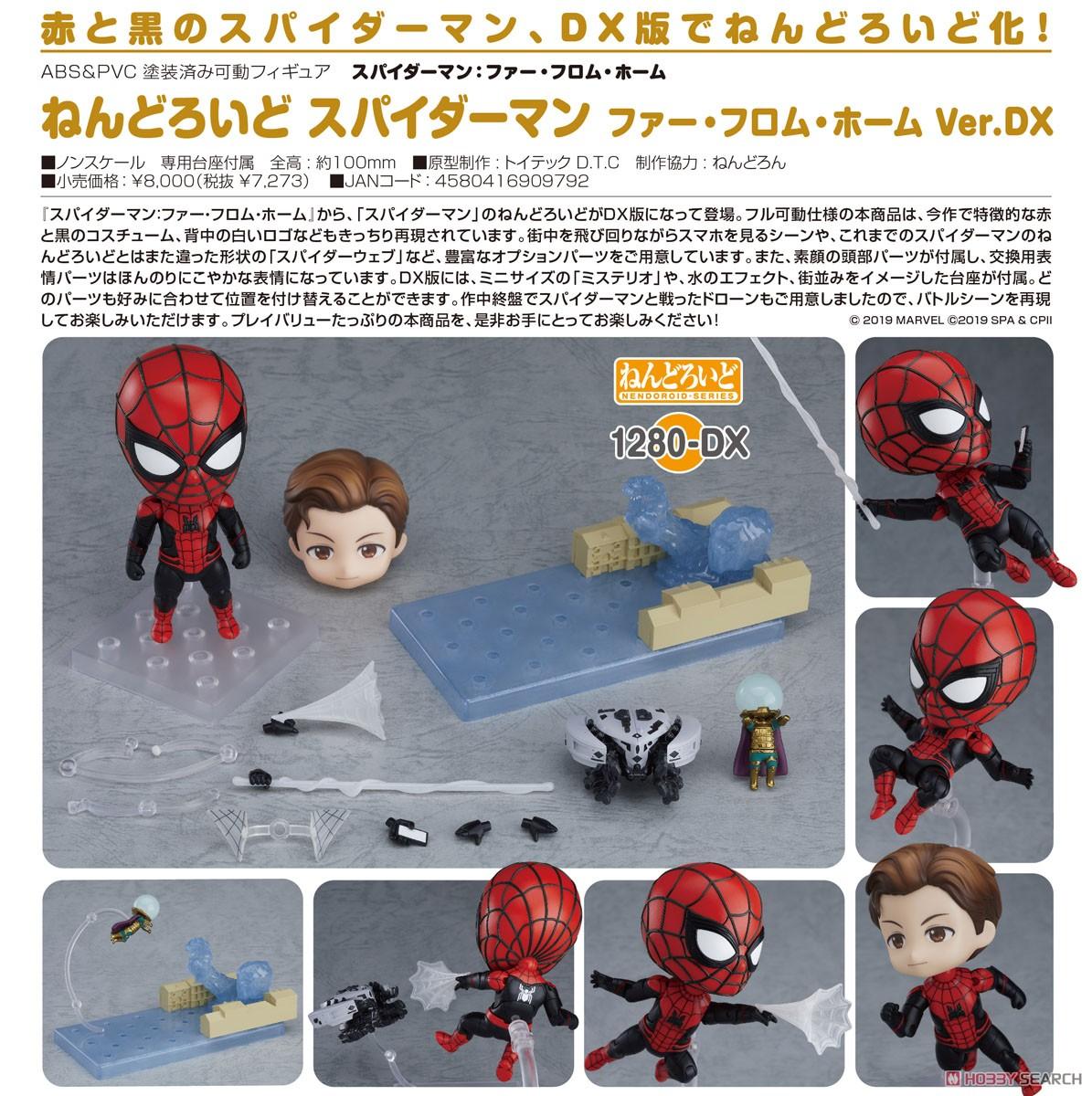 ねんどろいど『スパイダーマン ファー・フロム・ホーム Ver. DX』可動フィギュア-009