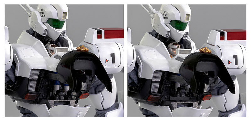 ロボ道『イングラム1号機』機動警察パトレイバー 1/35 可動フィギュア-011