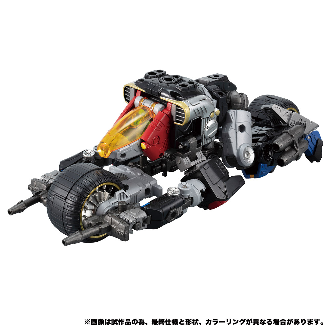 【限定販売】ダイアクロン DA-54『トライヴァース トライランブラー』可動フィギュア-002