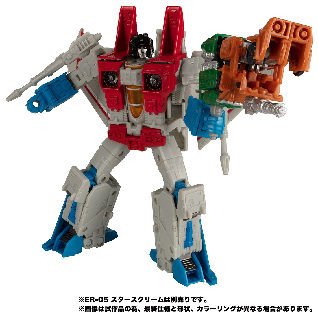 【限定販売】トランスフォーマー アースライズ『ER EX-04 ボムショック&グラウル』可変可動フィギュア-005