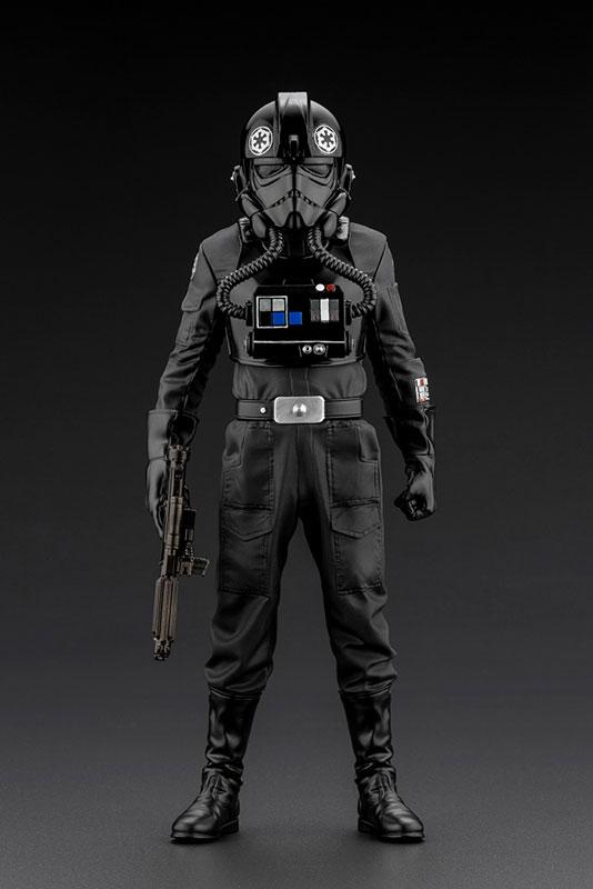ARTFX+『タイ・ファイター・パイロット』スター・ウォーズ 1/10 簡易組立キット-007