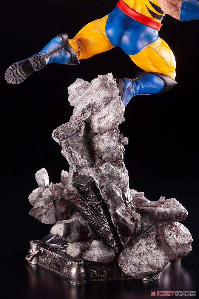 ファインアートスタチュー『ウルバリン X-MEN』MARVEL UNIVERSE 1/6 完成品フィギュア-013