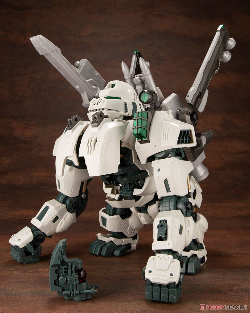 HMM『EZ-015 アイアンコングイエティ』ゾイド 1/72 プラモデル-008