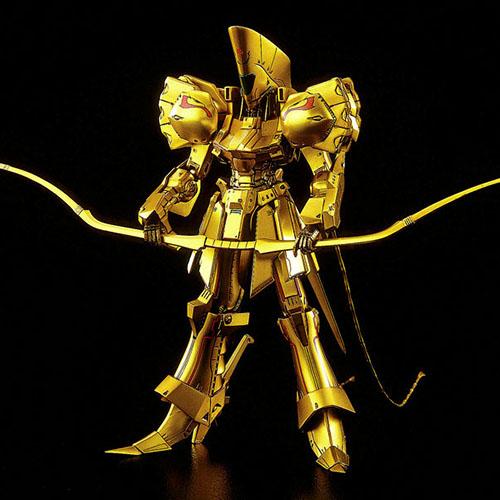 【再販】ファイブスター物語『ナイト・オブ・ゴールド Ver.3』1/144 プラモデル