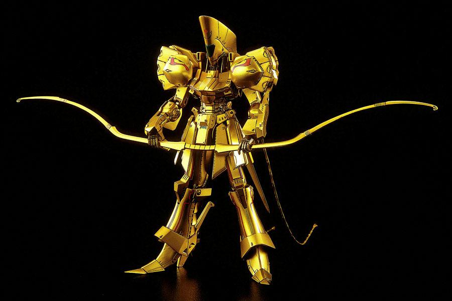 【再販】ファイブスター物語『ナイト・オブ・ゴールド Ver.3』1/144 プラモデル-001