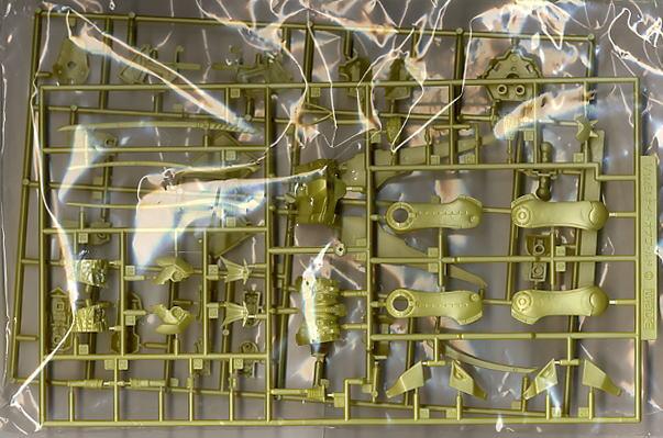 【再販】ファイブスター物語『ナイト・オブ・ゴールド Ver.3』1/144 プラモデル-002