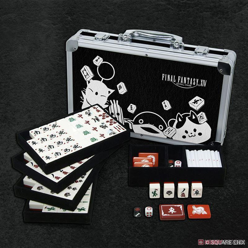 ファイナルファンタジーXIV『ドマ式麻雀 手打ち用麻雀牌』ゲーム-001