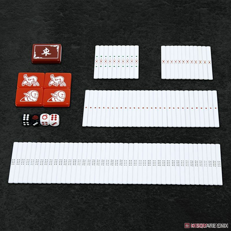 ファイナルファンタジーXIV『ドマ式麻雀 手打ち用麻雀牌』ゲーム-004