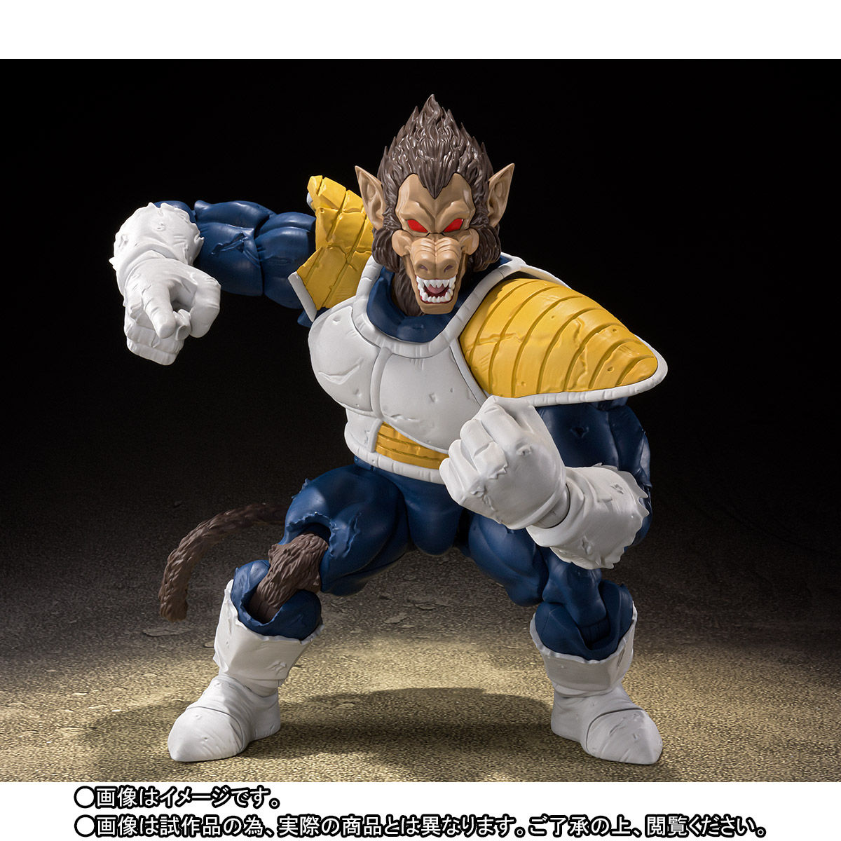【限定販売】S.H.Figuarts『大猿ベジータ』ドラゴンボールZ 可動フィギュア-003