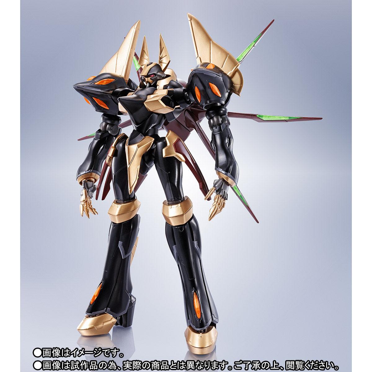 ROBOT魂〈SIDE KMF〉『ガウェイン ~BLACK REBELLION~』コードギアス 可動フィギュア-002