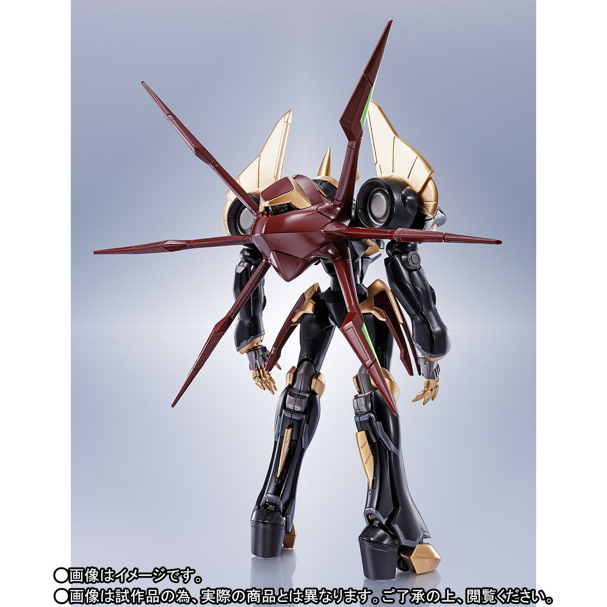 ROBOT魂〈SIDE KMF〉『ガウェイン ~BLACK REBELLION~』コードギアス 可動フィギュア-003