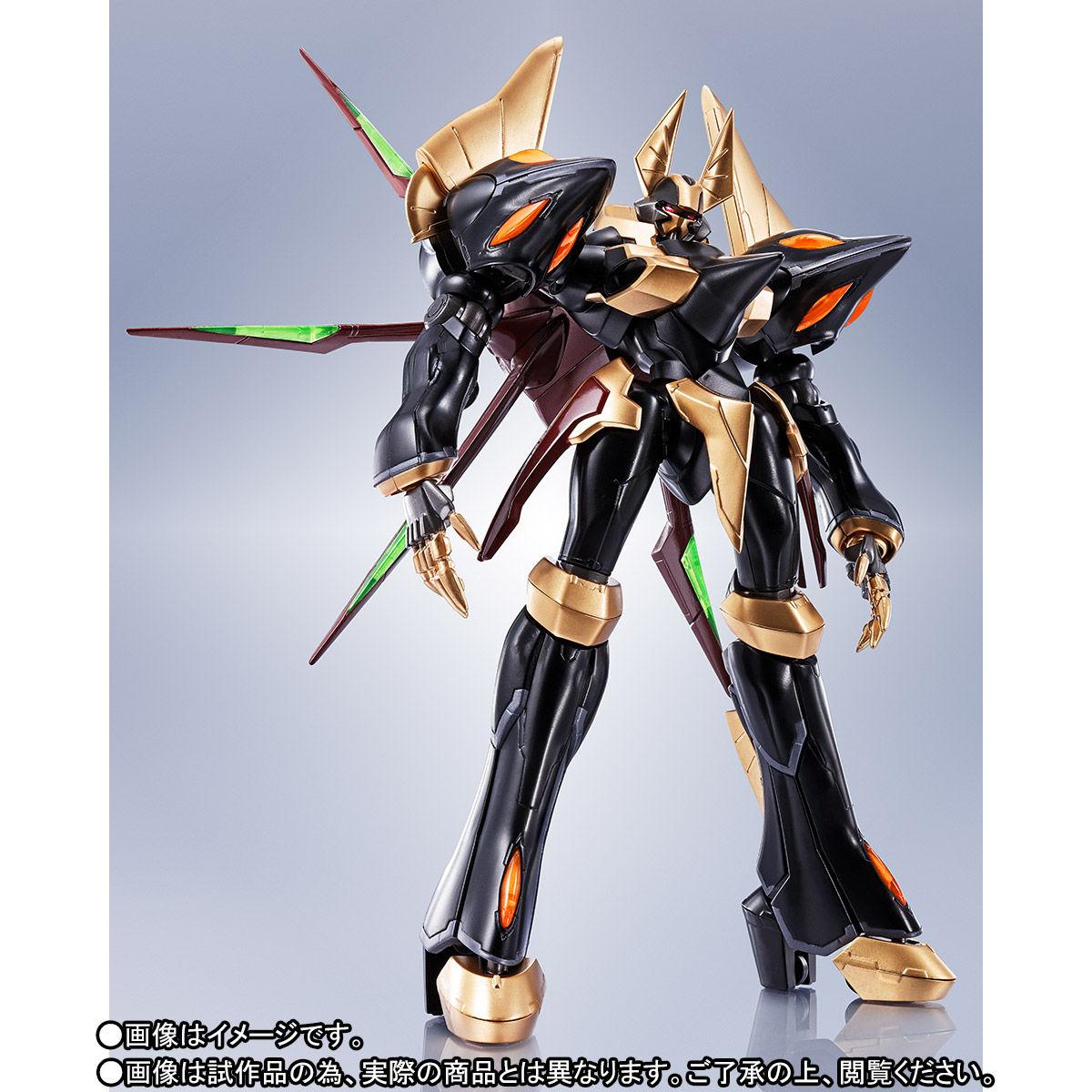 ROBOT魂〈SIDE KMF〉『ガウェイン ~BLACK REBELLION~』コードギアス 可動フィギュア-004