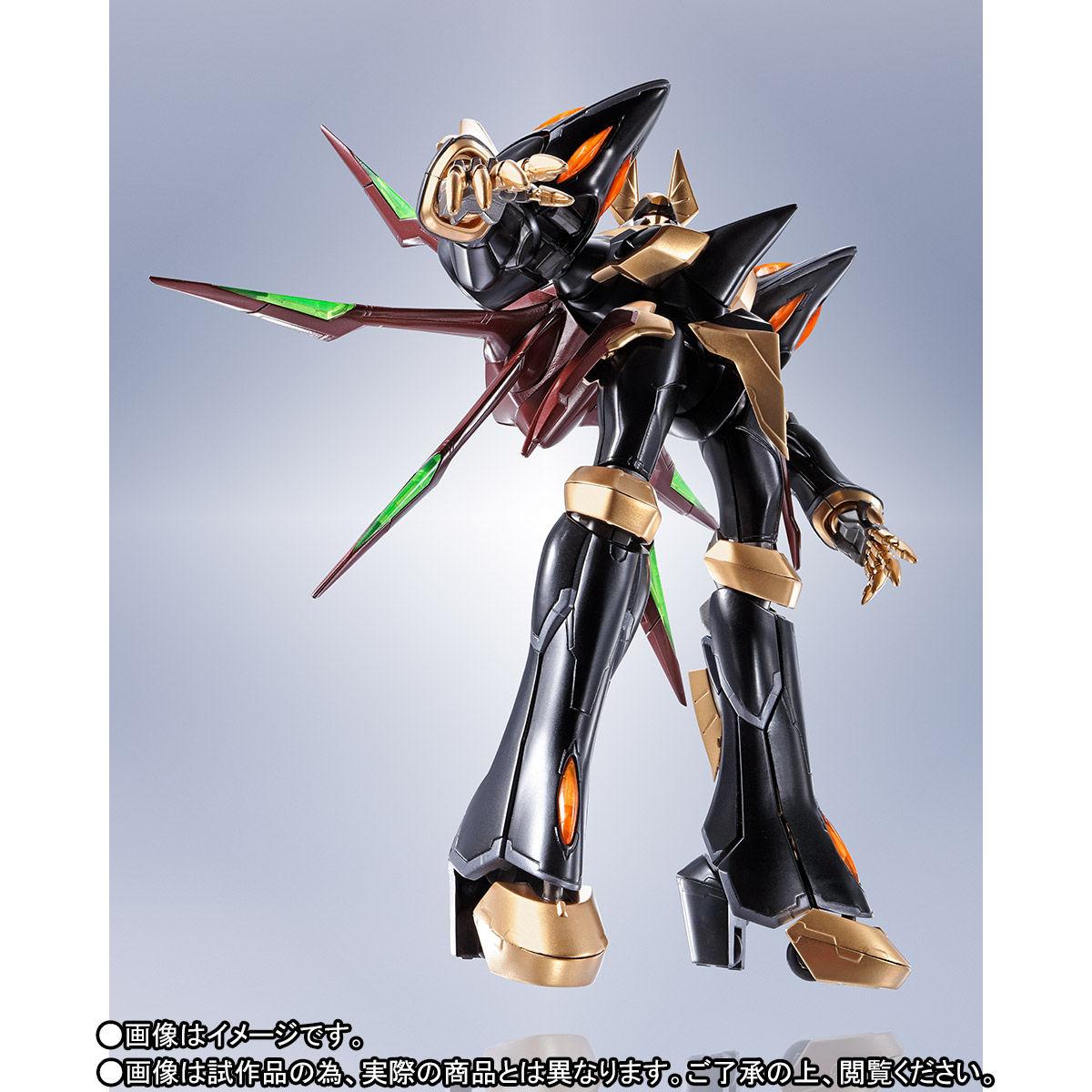 ROBOT魂〈SIDE KMF〉『ガウェイン ~BLACK REBELLION~』コードギアス 可動フィギュア-005
