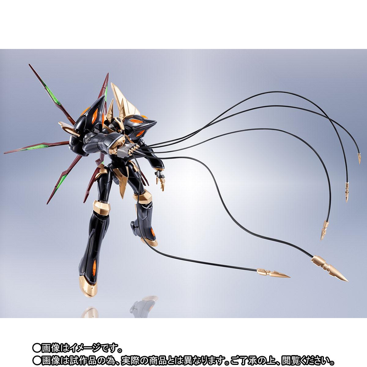ROBOT魂〈SIDE KMF〉『ガウェイン ~BLACK REBELLION~』コードギアス 可動フィギュア-006